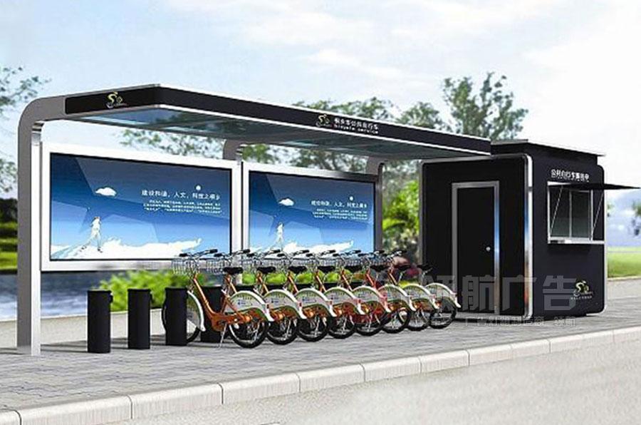 公共自行车棚DCT-1009