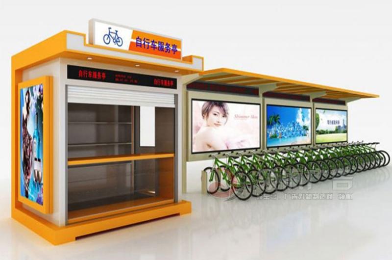 公共自行车棚DCT-1012