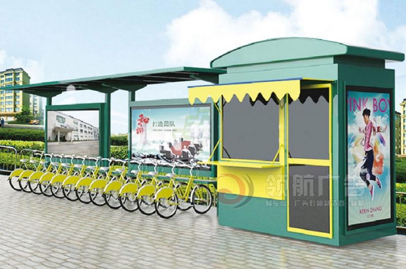 公共自行车棚DCT-1011