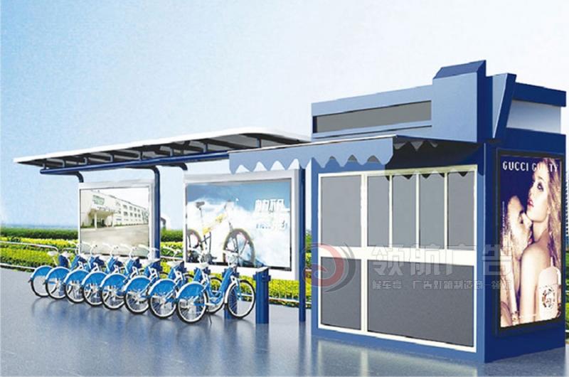 公共自行车棚DCT-1008