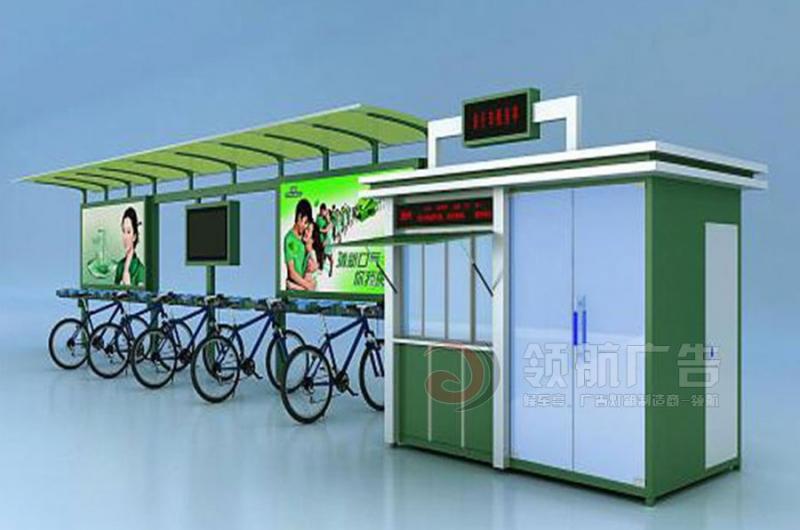 公共自行车棚DCT-1007