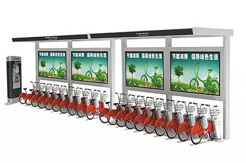 公共自行车棚DCT-1006