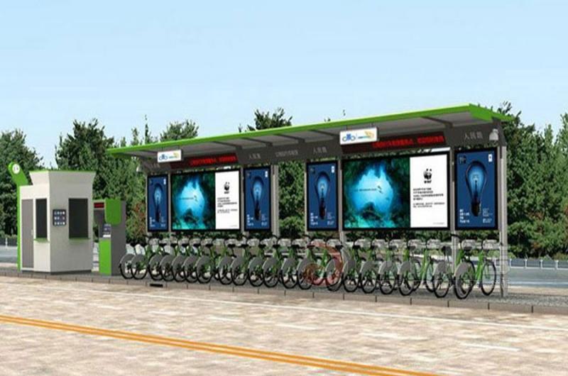 公共自行车棚DCT-1004