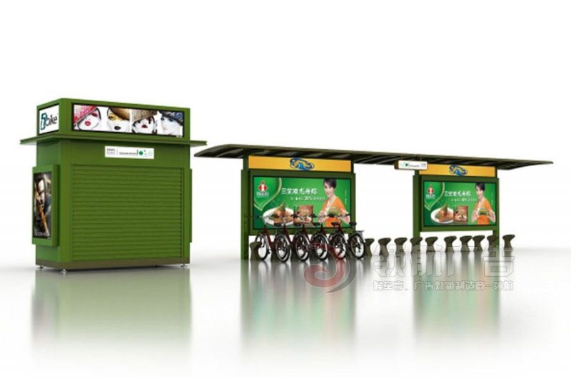 公共自行车棚DCT-1003