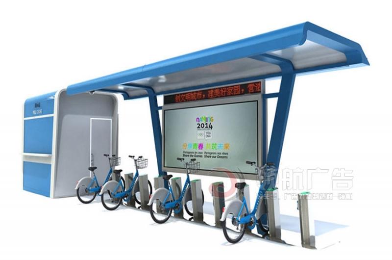 公共自行车棚DCT-1001