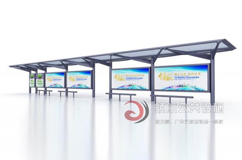 深圳23米候车亭一批次发车